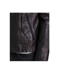Polo Ralph Lauren Black Leather Barracuda Jacket for men