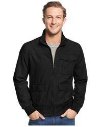 American Rag | Black Men's Trefoil Jacket for Men | Lyst
