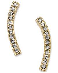 Danori | Metallic Gold-tone Pave Ear Crawler Earrings | Lyst
