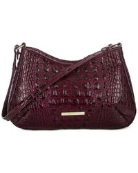 Brahmin - Purple Melbourne Ani Shoulder Bag - Lyst
