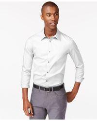 Calvin Klein | White Men's Infinite Cool Classic-fit Shirt for Men | Lyst