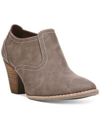 Dr. Scholls | Brown Codi Suede Shooties | Lyst