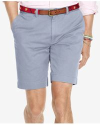 Polo Ralph Lauren - Blue Classic-fit Flat-front Chino Shorts for Men - Lyst