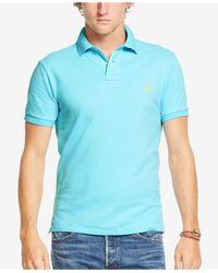 Polo Ralph Lauren - Orange Custom-fit Mesh Polo Shirt for Men - Lyst