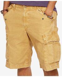 Denim & Supply Ralph Lauren - Natural Men's Canvas Cargo Shorts for Men - Lyst