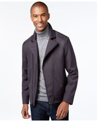 Vince Camuto Gray Men's Moto Jacket for men