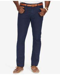 Polo Ralph Lauren   Blue Men's Big & Tall Poplin 5-pocket Pants for Men   Lyst