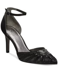 Adrianna Papell - Black Hollis Evening Pumps - Lyst