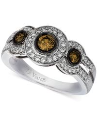 Le Vian - Diamond Ring (3/4 Ct. T.w.) In 14k White Gold - Lyst