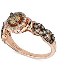 Le Vian - Pink Chocolatier® Diamond Ring (9/10 Ct. T.w.) In 14k Rose Gold - Lyst