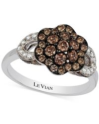 Le Vian | Metallic Chocolatier® Diamond Ring (1 Ct. T.w.) In 14k White Gold | Lyst
