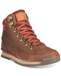 The North Face Brown Back-to-berkeley Redux Leather Boots for men