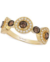 Le Vian | Metallic Diamond Circle Ring (5/8 Ct. T.w.) In 14k Gold | Lyst