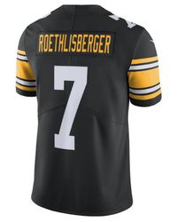 Nike Black Ben Roethlisberger Pittsburgh Steelers Vapor Untouchable Limited Jersey for men
