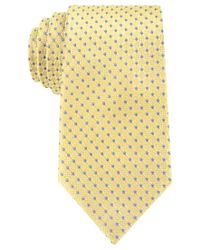 Tommy Hilfiger | Yellow Connected Dot Tie for Men | Lyst