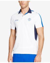 Polo Ralph Lauren - Blue Polo Sport Men's Pique Mesh Polo Shirt for Men - Lyst