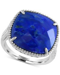 Effy Collection | Blue Effy Lapis Lazuli Drama Ring (7-2/3 Ct. T.w.) In Sterling Silver | Lyst
