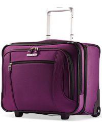 Samsonite | Purple Liteair Rolling Mobile Office, Only At Macy's | Lyst