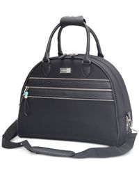 Steve Madden | Black Closeout! 65% Off Patchwork Dome Satchel, Only At Macy's | Lyst