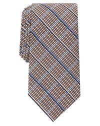 Perry Ellis Multicolor Elliot Grid Tie for men