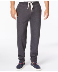 Tommy Hilfiger | Gray Big And Tall Men's Hancock Drawstring Sweatpants for Men | Lyst