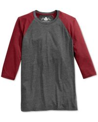 American Rag | Gray Men's Everyday Baseball T-shirt, Only At Macy's for Men | Lyst