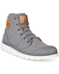 Palladium | Gray Men's Pallabrique Boots for Men | Lyst