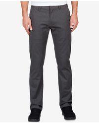 Volcom | Gray Men's Frickin Modern Stretch Pants for Men | Lyst