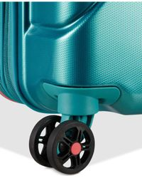 """American Tourister - Green Technum 20"""" Hardside Carry-on Spinner Suitcase - Lyst"""