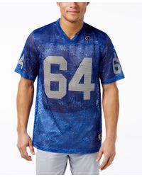 Champion - Blue Men's Printed Football Jersey for Men - Lyst
