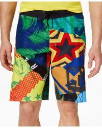 Reebok - Multicolor Men's Crossfit Super Nasty Hero Mix It Up Board Short for Men - Lyst