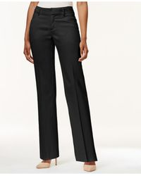Lee Platinum | Black Petite Madelyn Regular-fit Trousers | Lyst