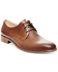 Steve Madden - Brown Men's Luigee Plain Toe Oxfords for Men - Lyst