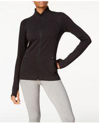 Nike | Black Dri-fit Training Jacket | Lyst