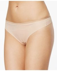 DKNY | Natural Downtown Cotton Thong Dk1028 | Lyst
