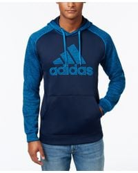 Adidas Originals | Blue Men's Team Issue Logo Hoodie for Men | Lyst