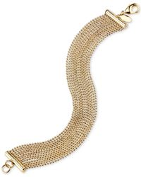 2028 | Metallic Gold-tone Chain Bracelet, A Macy's Exclusive Style | Lyst