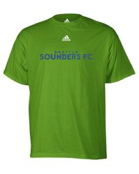 Adidas Green Seattle Sounders Primary One T-shirt for men