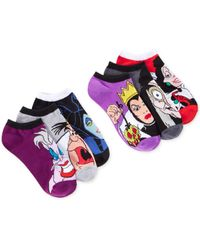 Disney | Multicolor Women's Assorted Character Ankle Socks 6 Pack | Lyst