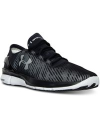 Under Armour Black Men's Speedform Apollo 2 Reflective Running Sneakers From Finish Line for men