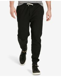 Polo Ralph Lauren - Black Men's Big & Tall Fleece Pants for Men - Lyst
