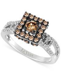 Le Vian | Metallic Chocolatier Diamond Ring (9/10 Ct. T.w.) In 14k White Gold | Lyst