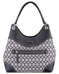 Nine West | Black Jacquard Shoulder Bag | Lyst