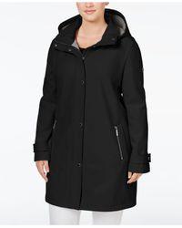 CALVIN KLEIN 205W39NYC - Black Plus Size 4-way Stretch Softshell Jacket - Lyst