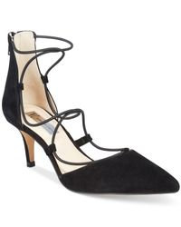 INC International Concepts | Black Daree Lace-up Pumps, Only At Macy's | Lyst