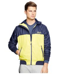 Polo Ralph Lauren - Orange Polo Sport Men's Nylon Tournament Jacket for Men - Lyst
