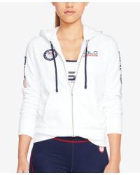 Polo Ralph Lauren - Multicolor Team Usa Full-zip Hoodie - Lyst