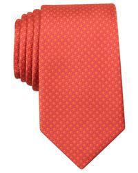 Perry Ellis | Orange Men's Sullivan Textured Classic Tie for Men | Lyst