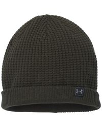 Under Armour | Black Men's Waffle Beanie for Men | Lyst