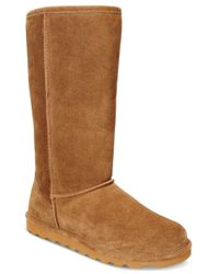 BEARPAW | Brown Women's Elle Tall Cold-weather Boots | Lyst